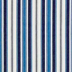 Striped Fabrics, Fabric Samples, Color Combinations, Indigo, Stripes, Repeat, Cotton, Colour, Bedroom