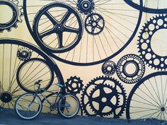 A Bike Commuters: yours truly, Mir.Am reporting from the good ol' Southeast in Asheville, North Carolina! Spring Break Trips, Commuter Bike, Good Ol, Asheville, Weird, Symbols, Inspiration, Art, Biblical Inspiration