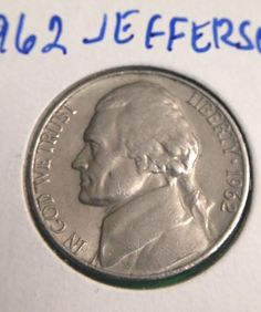 1962 Jefferson Nickel