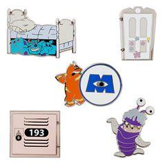 Monsters, Inc. Pin Set - 5-Pc.