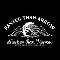 faster dan arrow sharper than narrow