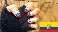 25 + FIFA World Cup 2014 Brazil Nail Art Designs, Ideas, Trends & Stickers | Flags Nails