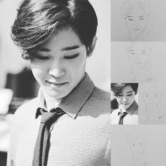 Hahaha... i fail to draw Taehyun.. he is so adorable.. I canot even