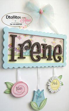 Gracias por su preferencia! Colgante para la puerta de la maternidad. Elaboradas 100% a mano Diseño a tu elección INFORMES POR INBOX!! — en Dtallitos con amor