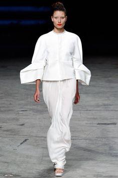 Rick Owens Spring 2012 Ready-to-Wear Fashion Show - Marcelia Freesz (OUI)