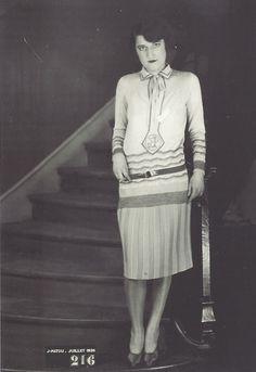 Modèle Jean Patou, août 1926