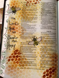 Bible challenge sweeter than honey