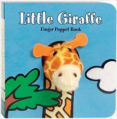 Amazon.com: Little Giraffe: Finger Puppet Book (Little Finger Puppet Board Books) (9780811867870): Chronicle Books, ImageBooks: Books