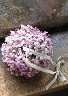 Pink Gypsophila Pomander - The Divine Flower Company Baby's Breath Gypsophila Wedding, Wedding Bouquets, Wedding Flowers, Purple Wedding, Early Spring Wedding, Flower Company, Cute Wedding Ideas, Dried Flowers, Flower Decorations