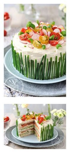 Baking soda 539024649144571928 - Sandwich Cake – recipe (fren) Source by Easter Recipes, Brunch Recipes, Holiday Recipes, Cake Recipes, Juice Recipes, Cake Sandwich, Tea Sandwiches, Sandwich Recipes, Salad Sandwich