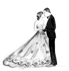 Pencil Wedding portrait Wedding Couples, Wedding Signs, Wedding Ceremony, Wedding Invitation Cards, Wedding Cards, Dream Wedding, Wedding Day, Wedding Illustration, Wedding Silhouette