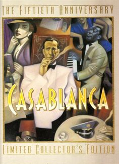 Casablanca: The Fiftieth Anniversary, Limited Collector's Edition Movie Poster