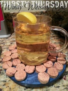 Home Everyday: Thirsty Thursday: Windy Whiskey Mac