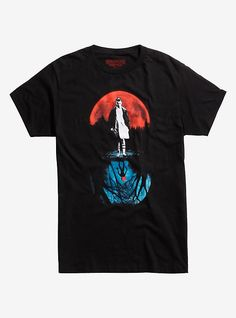 Hot Topic : Stranger Things Eleven Moon T-Shirt Stranger Things Merchandise, Stranger Things Logo, Stranger Things Aesthetic, Eleven Stranger Things, Stranger Things Season, Goku T Shirt, Hey Dude, 29 Years Old, Direct To Garment Printer