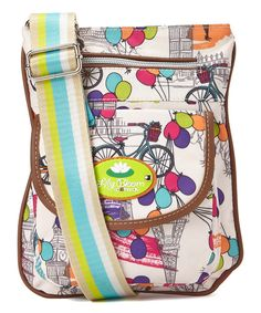 Take a look at the Lily Bloom Up In The Air Katie Crossbody Bag on #zulily today!