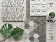 STONEHENGE Collection || Mix & Match || Come to visit us from 24-28 of September at Hall 15 Stand D8 #Realonda #Cersaie2018 #bologna #ceramica #madeinspain #tileofspain #design #tiles #tiledesign #homedecor #tileaddiction #trends #tiletrends #moodboard Bologna Italy, Stonehenge, Tile Design, Mix Match, Bathroom Ideas, Tiles, September, Trends, Creative