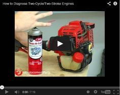 If you've ever had your lawn mower die right after starting or your trimmer not start, don't worry! Follow these 3 steps to diagnose your 2-stroke engine.