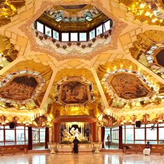 Hare Krishna Temple, Durban via National Geographic