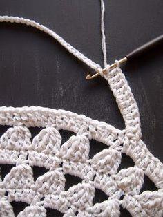Paso a paso Bolso Crochet – tutorial bolso ganchillo – Diagrama – Comando Craft