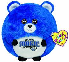 Ty Beanie Ballz Orlando Magic - NBA Ballz - http://bignbastore.com/nba-accessories/nba-toys/ty-beanie-ballz-orlando-magic-nba-ballz