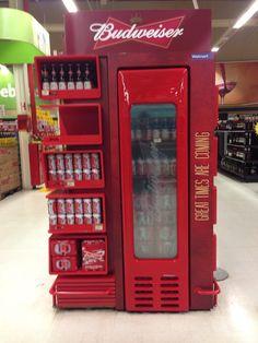 Display Budweiser - Walmart Bauru, SP