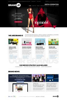 Ideas & Inspirations für Web Designs Brand i3 Identity and Website by Jonathan Cash, via Behance Schweizer Webdesign http://www.swisswebwork.ch