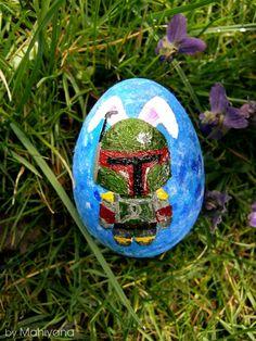 Boba Fett Bunny Easter Egg (Star Wars)