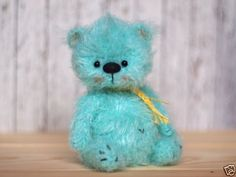 5-inches-miniature-Teddy-bear-ooak-Blythe-friend