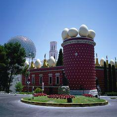 Figueres Dali Museeum Locations de villas en Espagne Saison Eté
