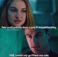 Tris and Tobias. Divergent. Insurgent. Allegiant.