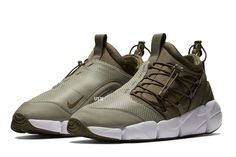 Preview: Nike Air Footscape Utility DM LT in Green - EU Kicks Sneaker Magazine