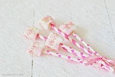 Chocolate Coated Marshmallows / Marshmallows s polevou | Na vidličku food blog