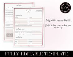 Edit Online, Rose Gold Hair, Pink Marble, Salons, Invitations, Templates, This Or That Questions, Etsy, Salon Marketing