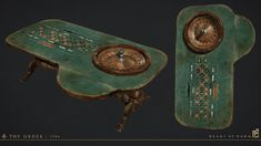 ArtStation - Roulette Table, Scot Andreason