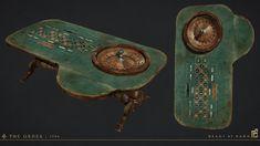 ArtStation - Roulette Table, Scot Andreason