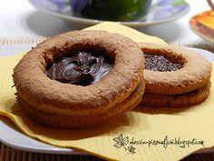 biscotti giganti con nutella e marmellata