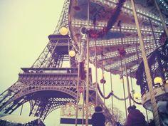 definitely rode this exact carousel while in paris!
