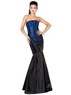 Jovani 6917, Ombre Sequin Gown - Dress $550.00