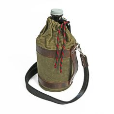 Growler Pack Hunter Oiled Cloth Canvas