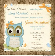 Free printable owl baby shower invitations other printables wood owl baby shower invitation filmwisefo