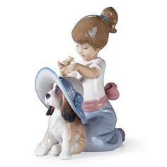 Lladro Figurines | Home > Lladro Porcelain Figurines > Lladro - Children > Elegant Touch ...