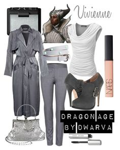 """Dragon Age - Vivienne"" by dwarva ❤ liked on Polyvore featuring STELLA McCARTNEY, Vivienne Westwood, NARS Cosmetics, Zalando, J.TOMSON, ASOS and Bobbi Brown Cosmetics"