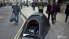 Should homeless people be given tents?