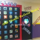 This is a PowerPoint of my door decorations I have in my classroom. They have been a big hit on my blog www.sanders6thgrade.blogpot.com and I've sh...