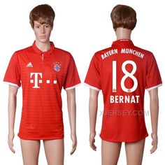 http://www.xjersey.com/201617-bayern-munich-18-bernat-home-thailand-soccer-jersey.html 2016-17 BAYERN MUNICH 18 BERNAT HOME THAILAND SOCCER JERSEY Only 33.11€ , Free Shipping!