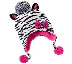 SO® Zebra Earflap Hat - Girls S.O.S http://www.amazon.com/dp/B00GJB1B3O/ref=cm_sw_r_pi_dp_fZ-cwb14SDGDW
