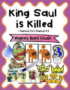 Cathy's Corner: King Saul is Killed #9 in the David series