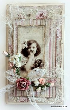 Filharmonicas kreative verden: Cherish This! Vintage Tags, Shabby Vintage, Card Making Inspiration, Making Ideas, Decoration Shabby, Diy And Crafts, Paper Crafts, Shabby Chic Cards, Beautiful Handmade Cards