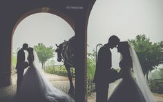 Romantic moment within Greenfield Village on this rainy afternoon