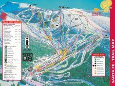 I learned to ski at Santa Fe, New Mexico.plenty of sunshine with powder underfoot! Sante Fe New Mexico, New Mexico Usa, Mexico Art, Santa Fe, Go Skiing, Mexico Style, Tourist Map, Land Of Enchantment, Maputo
